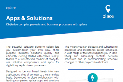 Apps and Solutions